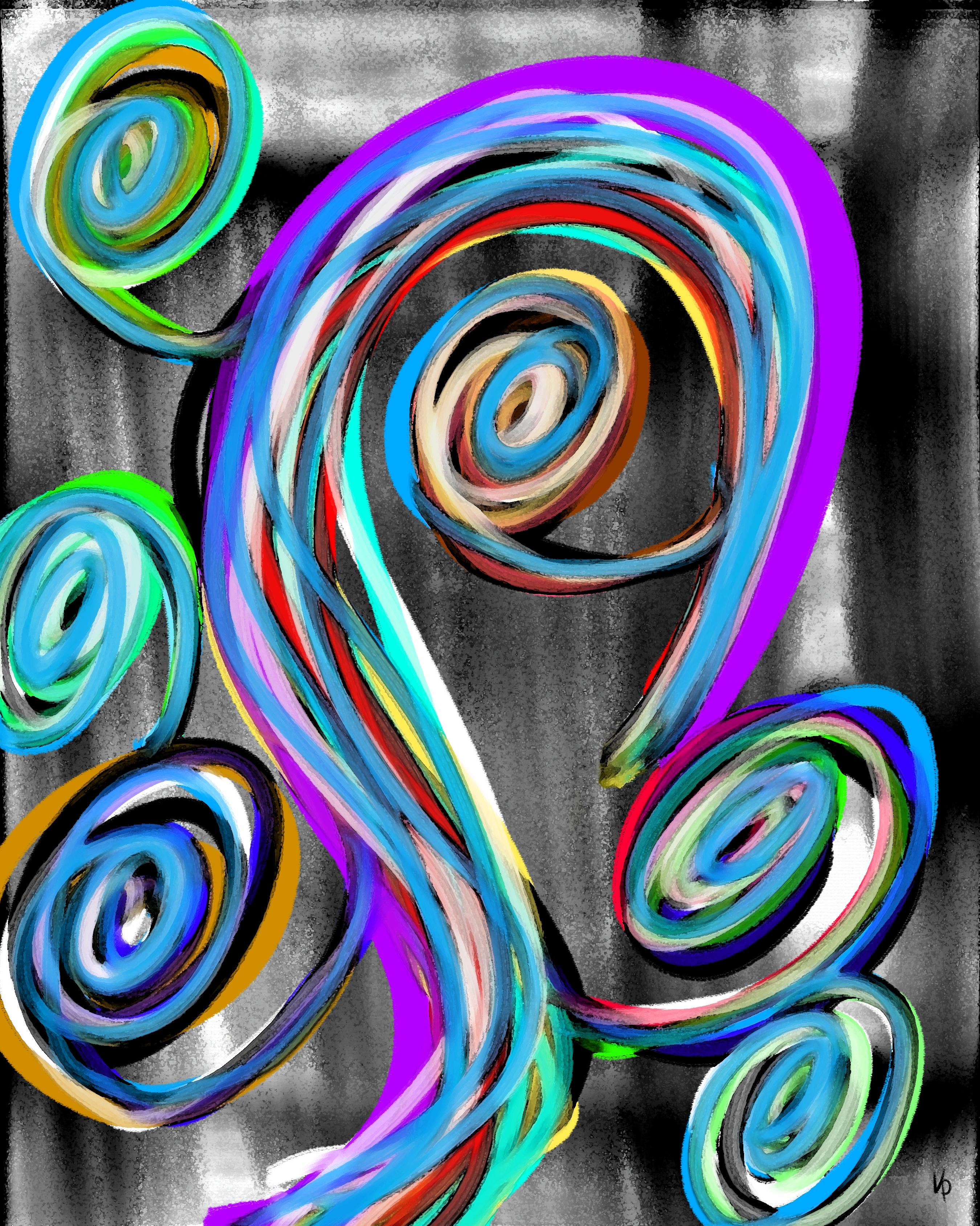 Spiral flower #1